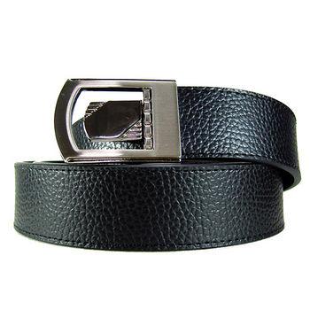 加長紳士皮帶18606-黑