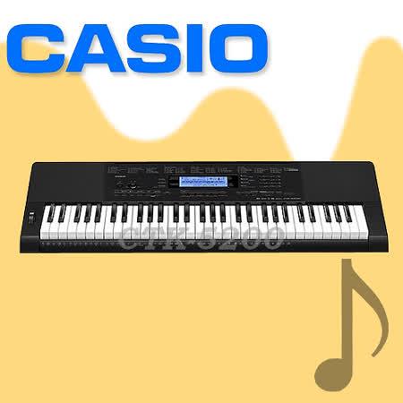 【CASIO 卡西歐】61鍵進階款電子琴-公司貨保固 (CTK-5200)