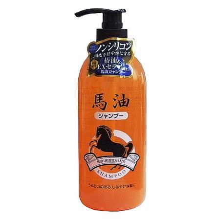 日本熊野馬油洗髮精800ml