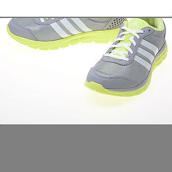 ADIDAS(女)BREEZE 202 2 W透氣跑鞋-螢光灰-B39793