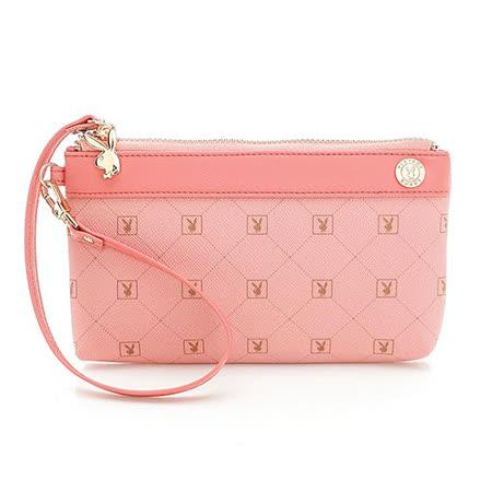 PLAYBOY- Heritage 系列手拿包-粉紅色