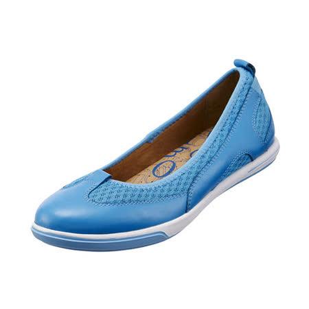 【Kimo德國品牌手工氣墊鞋】雙色娃娃款運動風休閒鞋_天空藍(藍/紅_K14SF053066)