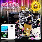 Rilakkuma/拉拉熊/懶懶熊 三星 Samsung Galaxy S6 G9200 透明軟式保護套 手機殼 (甜蜜款)