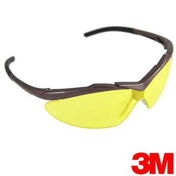 3M 耐衝擊戶外運動眼鏡 OSE 2103T琥珀色-加送多功能頭巾