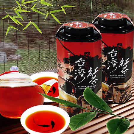 【龍源茶品】杉林溪蜜香無毒烏龍紅茶8罐組(75g/罐-共600g)