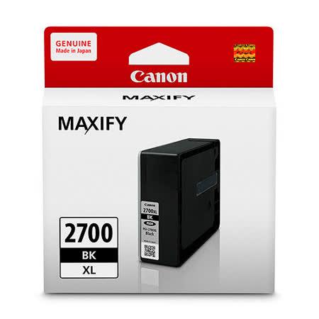 Canon PGI-2700XL-BK 原廠黑色墨水匣