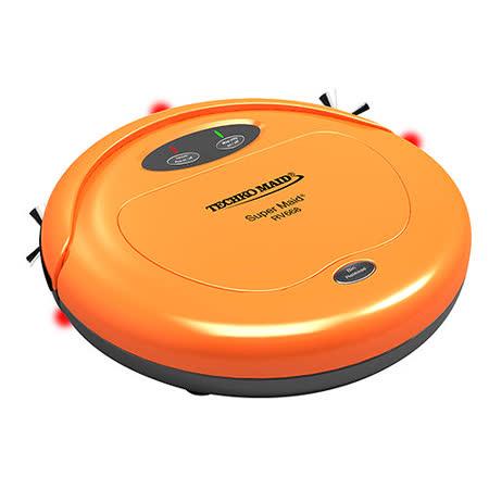 美國Techko Maid聰明管家 RV668四合一掃地機器人 橙色