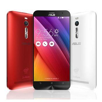 ASUS ZenFone 2 ZE550ML 2G/16G 5.5吋智慧型手機-保貼+保護套+8G 紅