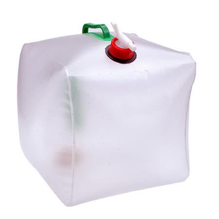 DF 生活趣館 - 露營停水必備多用途折疊飲水箱20L