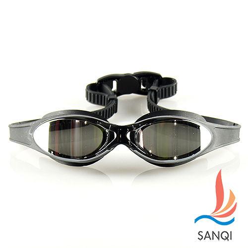 【SANQI三奇】夏日必備抗UV防霧休閒泳鏡(380愛 買 台中 復興-共3色F)