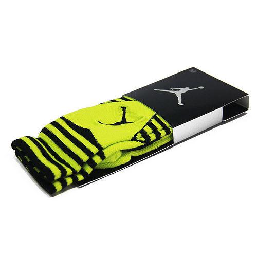 NIKE JORDAN X SNEAKER 籃球高筒襪 螢光綠黑~589046013