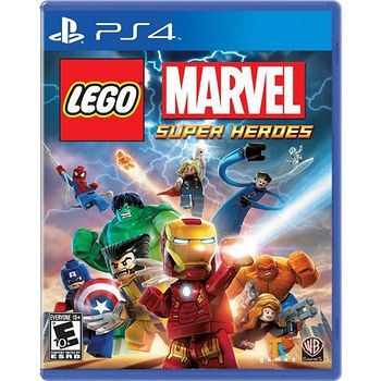 PS4 樂高:Marvel 超級英雄 亞洲英文版