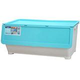 ★2件超值組★KEYWAY 特大前開式整理箱-藍(67*42*31cm)