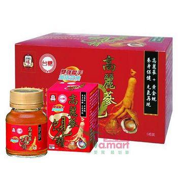 台糖生技 高麗蔘蜆精 2箱 (62毫升/瓶;48瓶/箱)