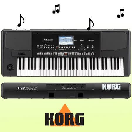 【KORG】PA系列簡單專業編曲伴奏鍵盤-公司貨保固 (PA-300)