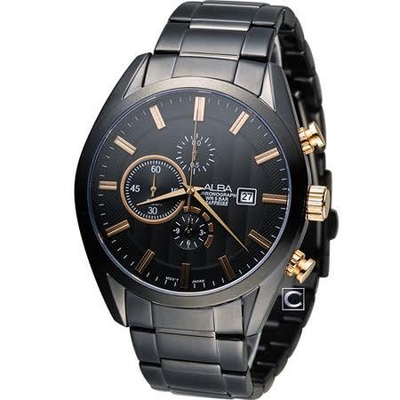 ALBA 雅柏 都會時尚計時腕錶 YM92-X262K AF8T83X1