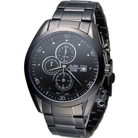 ALBA 雅柏 都會時尚計時腕錶 YM92-X262SD AF8T81X1