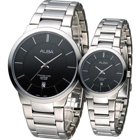 ALBA 雅柏 藏愛時尚對錶 VJ42-X138D VJ22-X185D