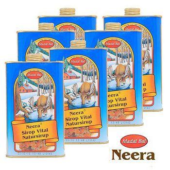 Neera 楓櫚糖漿500ml 六瓶熱銷組