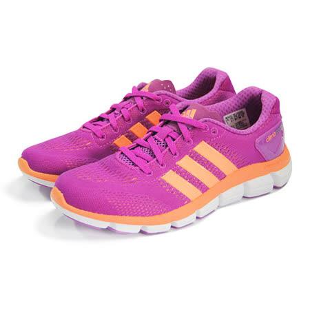 (女)ADIDAS CC RIDE W 慢跑鞋 紫紅/橘-B24463