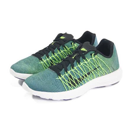 (男女)NIKE WMNS NIKE LUNARACER+ 3 慢跑鞋 綠/黑-554683403