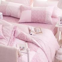 OLIVIA《 愛蜜莉 》特大雙人床包枕套三件組