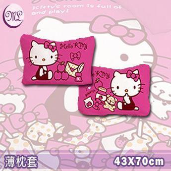 名流寢飾 Hello Kitty我的遊戲房薄枕頭套 一入
