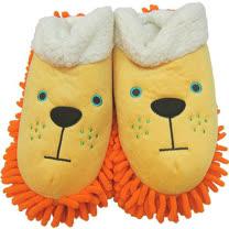 【波克貓哈日網】保暖居家拖鞋◇除塵功能◇《獅子黃色》