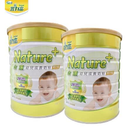 豐力富 NATURE+ 1-3歲幼兒成長奶粉1500g x2罐
