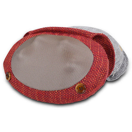 tokuyo 溫感揉捏編織蛋蛋枕 TH-518(烈焰紅)
