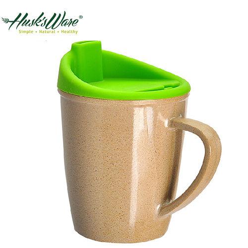 ~美國Husk's ware~稻殼天然無毒環保兒童水杯~精靈綠
