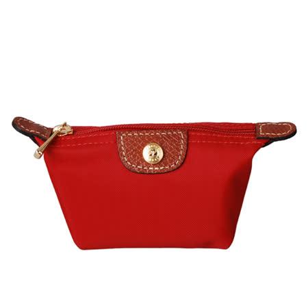 Longchamp 經典迷你水餃零錢包(紅)