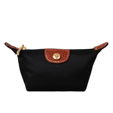 Longchamp 經典迷你水餃零錢包(黑)