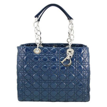 【部落客推薦】gohappy 購物網DIOR 經典Lady dior方型漆皮鏈帶購物包(藍)效果好嗎花蓮 遠 百 美食