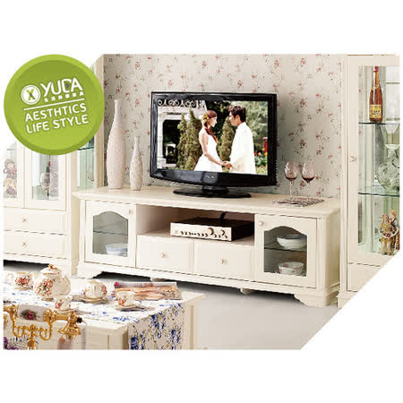 【YUDA】 公主專屬  DG903  歐式/法式 電視櫃/床尾櫃/落地櫃 鄉村風 田園家具