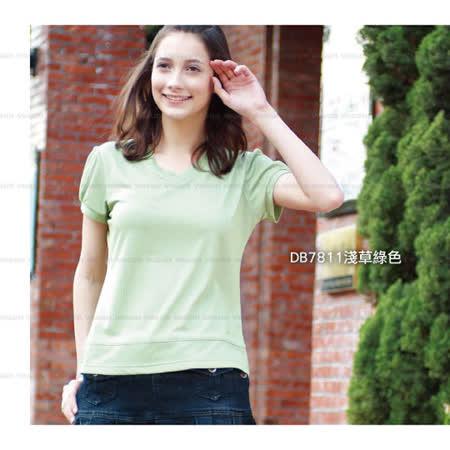 【RATOPS】女V領小包袖 COOLMAX FX鱗片布系列.吸濕.快乾.抗UV.抗污.易清洗.登山.溯溪↘3折~5折 #DB7811