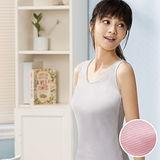 【華歌爾】PH5.5 酸鹼平衡除臭纖維健康蘭姿-背心條紋款(亮彩粉)
