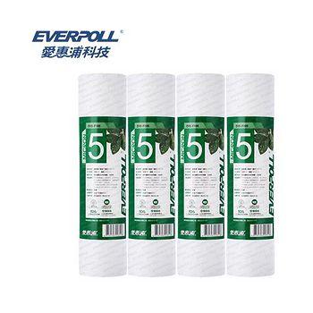 EVERPOLL 愛惠浦科技 一般標準型5微米PP濾心 EVB-F105 (4支組)