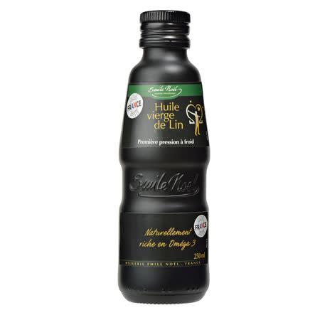 【法國艾米爾諾耶】100%冷壓初榨亞麻仁油(250ml)