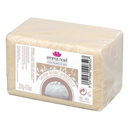 【Emma Noel 艾瑪諾耶】法國皇室御用棕櫚白馬賽皂300G
