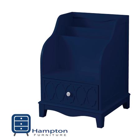漢妮Hampton安琪拉置物櫃-深藍