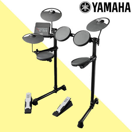 『YAMAHA 山葉』輕便款電子鼓組+30W專用音箱/含鼓椅、鼓棒、耳機-公司貨保固 (DTX400)