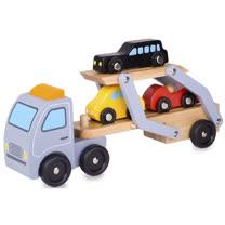 Classic world 德國經典木玩客來喜 大車載小車