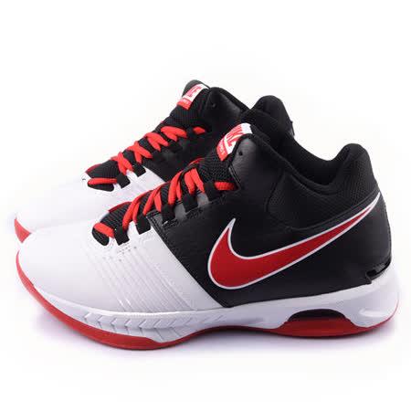 NIKE 男款 AIR VISI PRO 籃球運動鞋653656102-黑白