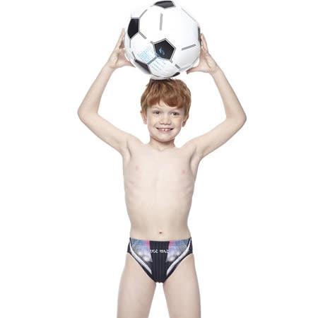 【SAIN SOU】競賽/泳隊/兒童三角泳褲附泳帽A67406