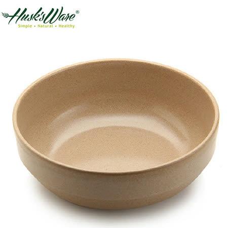 【美國Husk's ware】稻殼天然無毒環保平底圓碗6吋(5入組)