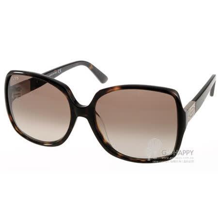 TOD'S太陽眼鏡 高貴典雅完美曲線(琥珀) #TOD9126S 52F