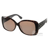 TOD'S太陽眼鏡 時尚壓紋款(琥珀咖啡) #TOD9085S 48J