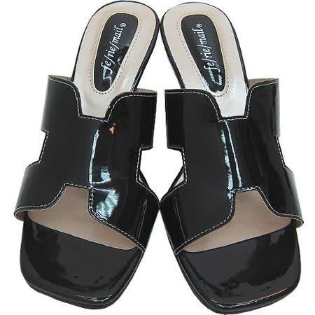 【波克貓哈日網】超舒適楔形鞋◇高跟涼鞋◇《神秘黑色》