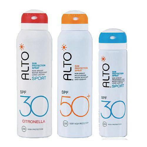 【任選3件】ALTO艾多曬防曬噴霧SPF50+150ml +SPF30 75ml